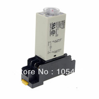 Wholesale 24VAC H3Y Power On Time Delay Relay MINUTE DPDT Pins Socket order lt no track