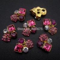 accessorize jewelry - 50pcs Strass rhinestones Glitter square gold d nail jewelry decoration nails art YNS24 jewelry accessorize jewelry cocktail