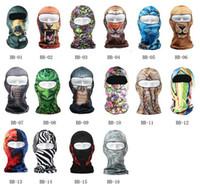 Wholesale Hot Sale New Facekini Face Kini Outdoor UV Sun Protection Swim Cap Pool Mask Star Pattern Cycling Bike Hiking Ski Navy Seal Masks