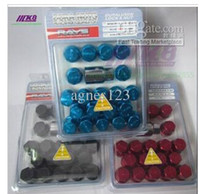 Wholesale RAYS lightweight screw the modified hub nut forged wheel nuts mm