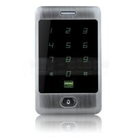 Кнопка дверного звонка 125KHz RFID считыватель карт Сенсорная панель Подсветка металлический корпус Пароль Клавиатура для системы контроля доступа Kit