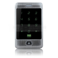 bell access control - Door Bell Button KHz RFID Card Reader Touch Panel Backlight Metal Case Password Keypad For Access Control System Kit