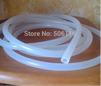 Wholesale Medical Food Grade Silicone Tube Alcohol Distiller Silicone Pipe ID mm OD mm