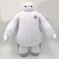 Big Kids baby cartoon video - 15 quot CM Cartoon Movie Big Hero Baymax Robot Plush Toys Dolls Movies TV Toys Hobbies Baby Toys for Children Gifts
