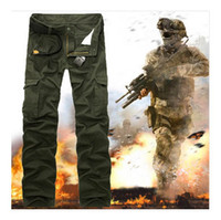army fatigue pants - Army Combat Cargo Pants New High quality Fatigue Tactical Solid Military Army Combat Cargo Pants Trousers Casual