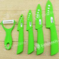 Wholesale High Quality Beauty Gifts Zirconia Kitchen Knife Fruit Knife Ceramic Knife Kitchen Knife Set quot quot quot quot inch Peeler Covers Free DHL Fatory