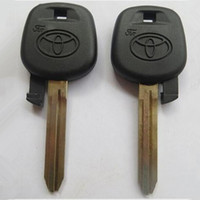 Toyota best camry - 10pcs for Toyota camry blank transponder key shell can install chip with best price