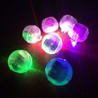 balloons party shop - 2000pcs Led ball lamp balloon light for Paper Lantern Balloon light party wedding Party Decoration Light Christmas DHL free shopping
