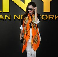 Wholesale 2014 New retro floral pattern cotton scarf large square scarf National style scarf