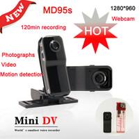 HDMI Mini caméra vidéo monde s plus petite voix recoder mini caméra sans fil DV (photographies, aérienne, MD95s, HDMI, TF / SD carte ne pas inclure)