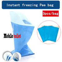 bear urine - 3pcs bag bags portable urine storage bag baby diaper bag car emergency urine mobile toilet outdoor camp emergency toilet