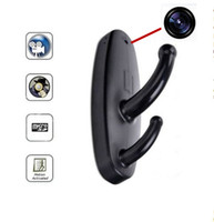 Wholesale 1280x960 SPY Clothes Hook Hidden Pinhole Camera Mini DVR Audio Vedio Camera Bathroom Hanger Camera