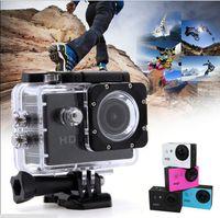 Precio de Camera underwater-Resistente al agua deporte DV grabadora SJ4000 A8 acción cámara Full HD 720P 1,5 pulgadas coche DVR H.264 5 Mega submarino 30M cámara de vídeo C 111127