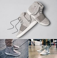 Wholesale Fashion Basketball Shoes Men Yeezy Boost Outdoor Shoes Sneakers Outdoors Athletics Shoes Sports Shoes Leather Size