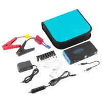 Wholesale New mAh Car Jump Starter Power Bank Battery Charger Laptop Phone Tracker Drop Shipping