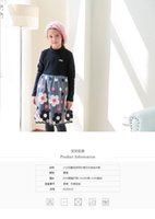Cheap Winter 2014 new children's clothing wholesale trade in Europe and the United States version thick warm Girl Dress
