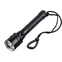 aviation led - 3 CREE XM L2 LED Diving Flashlight Lumens Waterproof Aviation Aluminum Shell Outdoor Fishing Surfing Flash Light LED Bulbs SL LF