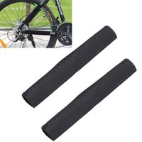 Wholesale 2pcs Black Bike Chain Protector Cycling Frame Chain Stay Posted Protector MTB Bicycle Chain Care Guard Cover