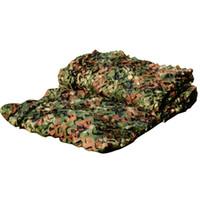 Wholesale Free shipment Woodland Camouflage Netting decoration woodland camo net sun shade net enclosure netting