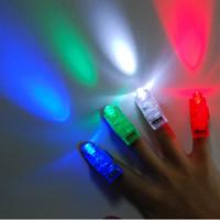 Wholesale 4000pcs LED finger light color Laser finger lamp for party birthday Chistmas decoration