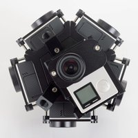 alu frames - Gopro HD Hero Full Shot Alu Case Degree Spherical Panorama Frame Mount VR Video Mount for aerial photography
