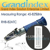 juice concentrate - 45 Brix refractometer RHB ATC for the sugar content of concentrated fruit juice condensed milk jam