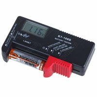 Wholesale Universal Digital Battery Tester For V V and AA AAA Cell Free Drop Shipping