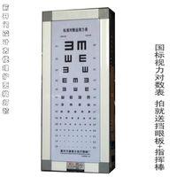 aluminum alloys chart - 10pcs New arrival isointernational standard aluminum alloy meters meters vision chart light box child light box