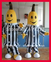 banana in pajamas - hot sell bananas in pajamas mascot costume for adult