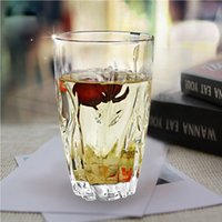 accessories beer stein - 400ml Diamond Leaf Design Clear Wine Glass Beer Tumbler Whiskey Glasses Cup Collins Juice Mug Bar Party Accessories Drinkware order lt no tr