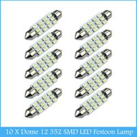 Wholesale 10 X Car Dome SMD LED Bulb Light Interior Festoon Lamp mm WH C232