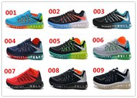 Cheap 9 colors men fashion max 2015 shoes design air mesh running sneakers boys popular brand flyknitted sports run shoes 40-45