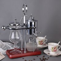 Wholesale Royal Belgium coffee maker balancing coffee machine expresso coffee maker silver promotion