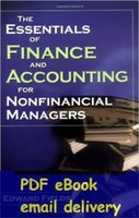 account manager - The Essentials of Finance and Accounting for Nonfinancial Managers by E Fields