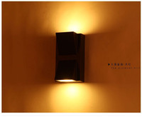 Wholesale Modern outdoor wall lamp LED W Porch light garden decoration IP54 for home double wall sconce light fixture