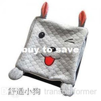 Wholesale 4247 rabbit cartoon animal hand warmer mouse pad usb hand warmer mouse pad