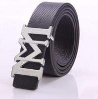 Wholesale 2015 Brand of high end men s genuine leather belt buckle brand for business men luxury leather belt leather belt