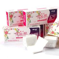 box facial tissue - 300PCS box BEILES Cosmetic special Disposable facial cotton non woven fabrics Makeup Cotton Makeup Remover Beauty cotton tissue