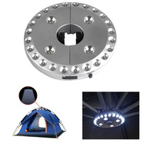 battery operated camping lamps - 28 LEDs Outdoor Patio Umbrella Pole Light Camping Tent Lamp Pole Mounted or Hung Battery Operated Portable Lamp Silver Patio Light