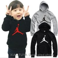 Wholesale Baby Kids Clothing Cotton Children s wear Retail cm kids hoodies Hip Hop printed hoodie Sweatshirts Pullover