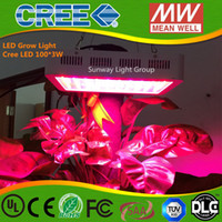 Wholesale led grow light W cree Band Full Spectrum LED Grow Lights Red Blue White UV IR Led Plant Growing Lighting Lamps AC85 V