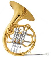 Wholesale Bb Junior French Horn Three Valves With Foambody case Shipping time8 days Brass Musical instruments