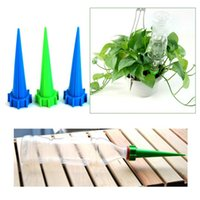 Wholesale 100Pcs Garden Cone Watering Spike Plant Flower Waterers Bottle Irrigation System