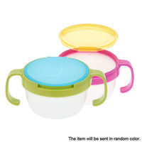Wholesale Snack Bowl Infant No Splashing Picnic Mate Baby Candy Food Box with Handle Babies Cookies Cup Baby Products