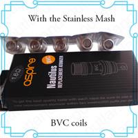 Cheap High qualitya BVC coils BDC coils Aspire Nautilus Coils on selling
