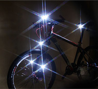 Wholesale Bike bicycle Cycling Head Light LED Waterproof Safety Flash Light Tail Lamp