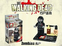 Wholesale 8pcs The Walking Dead DARYL GLENN RICK MIAHONNE ZOMBIES Minifigures Bricks Toys Best Children Gift
