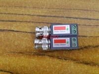 100pcs / lot liberan el envío Twisted BNC Balun video pasivo transceptores UTP adaptador Balun Balun UTP Cat5 CCTV Vídeo