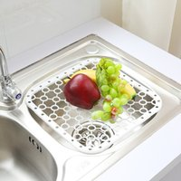 Wholesale C11 versatile kitchen sink drain and plate placemat insulation pads vegetables dish