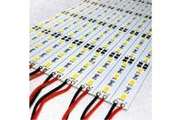 Wholesale 100X Hard LED Strip SMD Lumen Cool White Warm White Green Red Blue Rigid Bar LEDs Strip Light Strip DHL ship